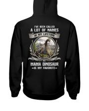 mama dinosaur Hooded Sweatshirt back