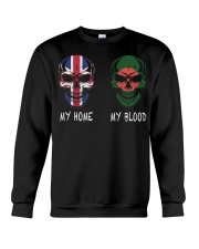 My Home United Kingdom - Bangladesh Crewneck Sweatshirt thumbnail