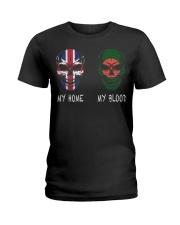 My Home United Kingdom - Bangladesh Ladies T-Shirt thumbnail