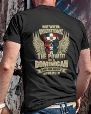 THE POWER DOMINICAN - 011 Classic T-Shirt lifestyle-mens-crewneck-back-2