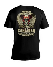 THE POWER CANADIAN - 01 V-Neck T-Shirt thumbnail