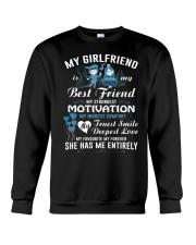 COUPLE: MY GF- MY BEST FRIEND Crewneck Sweatshirt thumbnail