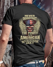 THE POWER AMERICAN - 05 Classic T-Shirt lifestyle-mens-crewneck-back-2