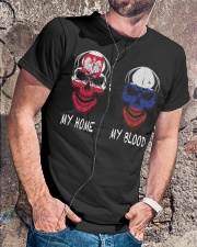 My Home Poland- Russia Classic T-Shirt lifestyle-mens-crewneck-front-4