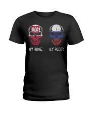 My Home Poland- Russia Ladies T-Shirt thumbnail