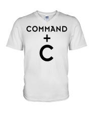COMMAND  V-Neck T-Shirt thumbnail