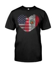 MY HEART Peru Classic T-Shirt front