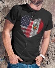MY HEART Peru Classic T-Shirt lifestyle-mens-crewneck-front-4