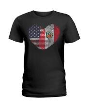MY HEART Peru Ladies T-Shirt thumbnail
