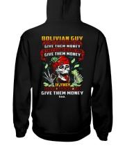 GIVE-THEM-MONEY Hooded Sweatshirt back