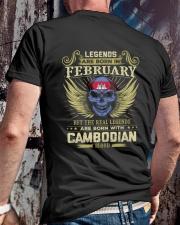 LEGENDS CAMBODIAN - 02 Classic T-Shirt lifestyle-mens-crewneck-back-2
