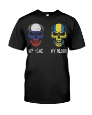 My Home Russia- Sweden Classic T-Shirt front