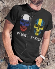 My Home Russia- Sweden Classic T-Shirt lifestyle-mens-crewneck-front-4