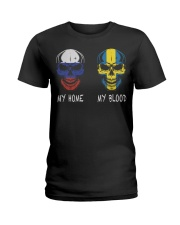 My Home Russia- Sweden Ladies T-Shirt thumbnail