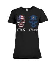My Blood Utah Premium Fit Ladies Tee thumbnail