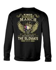 KINGS THE SLOVAKS - 03 Crewneck Sweatshirt thumbnail
