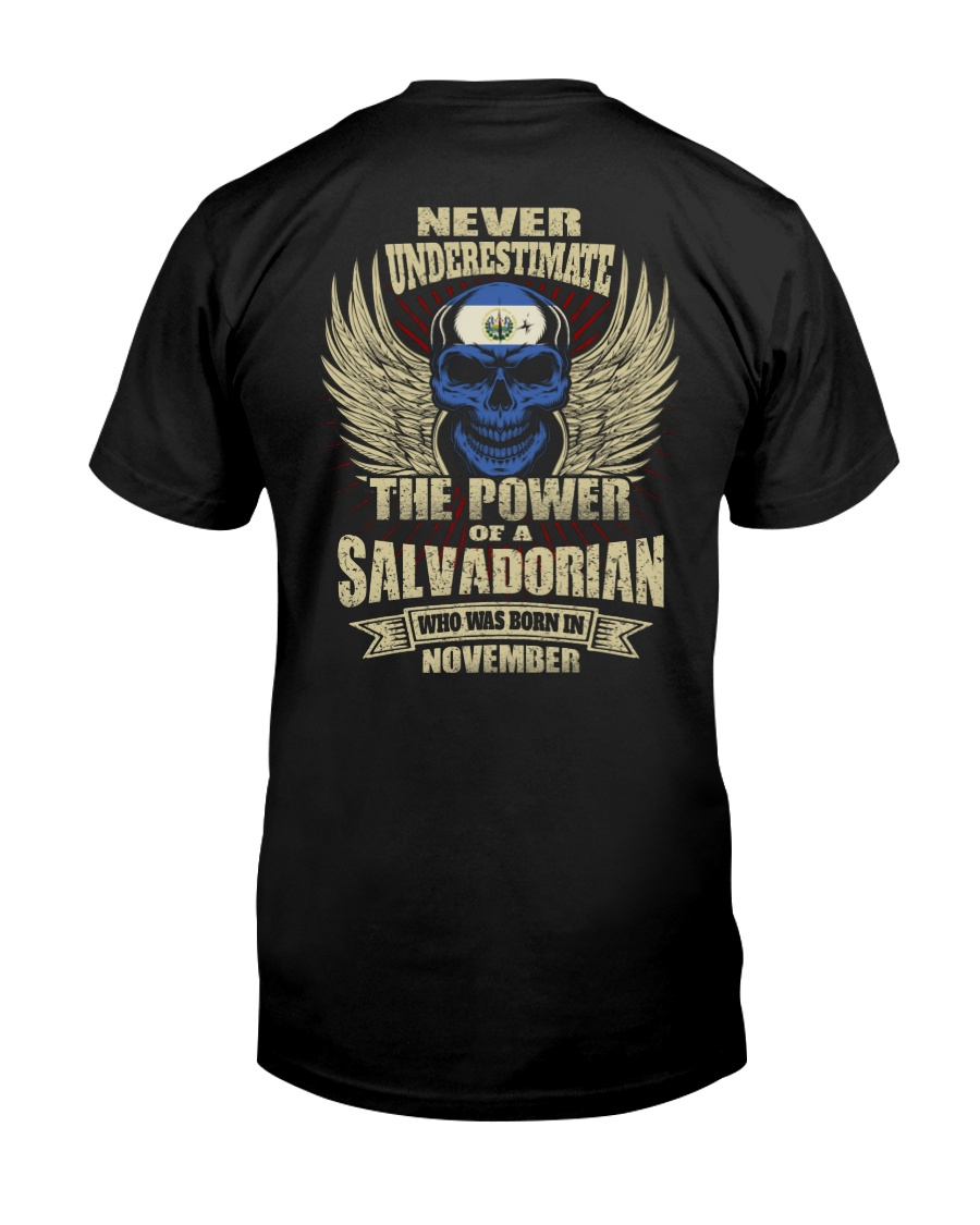 THE POWER SALVADORIAN - 011 Classic T-Shirt