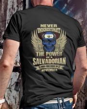 THE POWER SALVADORIAN - 011 Classic T-Shirt lifestyle-mens-crewneck-back-2