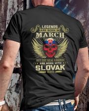 LEGENDS SLOVAK - 03 Classic T-Shirt lifestyle-mens-crewneck-back-2