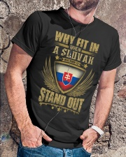 STAND OUT - SLOVAK Classic T-Shirt lifestyle-mens-crewneck-front-4