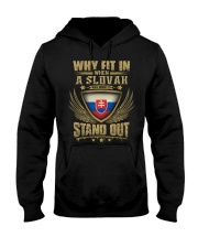 STAND OUT - SLOVAK Hooded Sweatshirt thumbnail