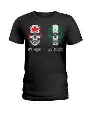 Blood - Nigeria Ladies T-Shirt thumbnail