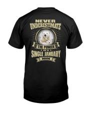 SINGLE MOM - 01 Classic T-Shirt back