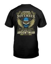 LEGENDS ARGENTINIAN - 011 Classic T-Shirt back