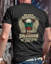 THE POWER BULGARIAN - 07 Classic T-Shirt lifestyle-mens-crewneck-back-2