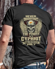 THE POWER CYPRIOT - 07 Classic T-Shirt lifestyle-mens-crewneck-back-2