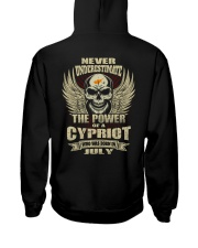 THE POWER CYPRIOT - 07 Hooded Sweatshirt thumbnail