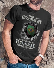 GEOGRAPHY BRAZIL Classic T-Shirt lifestyle-mens-crewneck-front-4