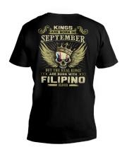 KINGS FILIPINO - 09 V-Neck T-Shirt thumbnail