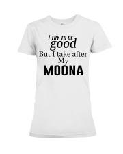 GOOD MY MOONA Premium Fit Ladies Tee thumbnail