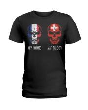 My Home France- Switzerland Ladies T-Shirt thumbnail