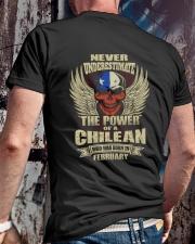 THE POWER CHILEAN - 02 Classic T-Shirt lifestyle-mens-crewneck-back-2