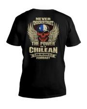THE POWER CHILEAN - 02 V-Neck T-Shirt thumbnail