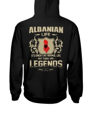 LIFE-LEGENDS Hooded Sweatshirt back