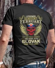 LEGENDS SLOVAK - 02 Classic T-Shirt lifestyle-mens-crewneck-back-2