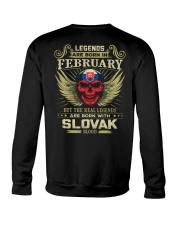 LEGENDS SLOVAK - 02 Crewneck Sweatshirt thumbnail