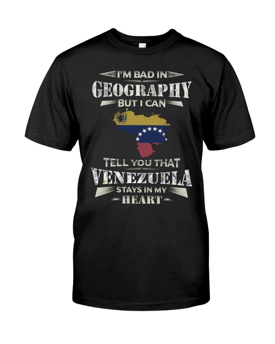 In My Heart - Venezuela Classic T-Shirt