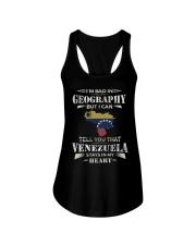 In My Heart - Venezuela Ladies Flowy Tank thumbnail