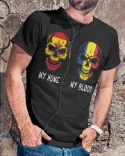 My Home Spain- Romania Classic T-Shirt lifestyle-mens-crewneck-front-4