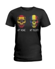 My Home Spain- Romania Ladies T-Shirt thumbnail