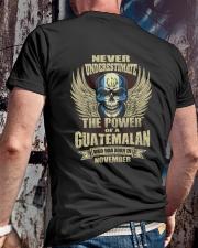THE POWER GUATEMALA - 011 Classic T-Shirt lifestyle-mens-crewneck-back-2