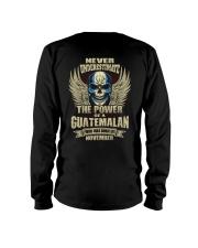 THE POWER GUATEMALA - 011 Long Sleeve Tee thumbnail