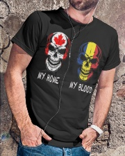 Blood - Romania Classic T-Shirt lifestyle-mens-crewneck-front-4