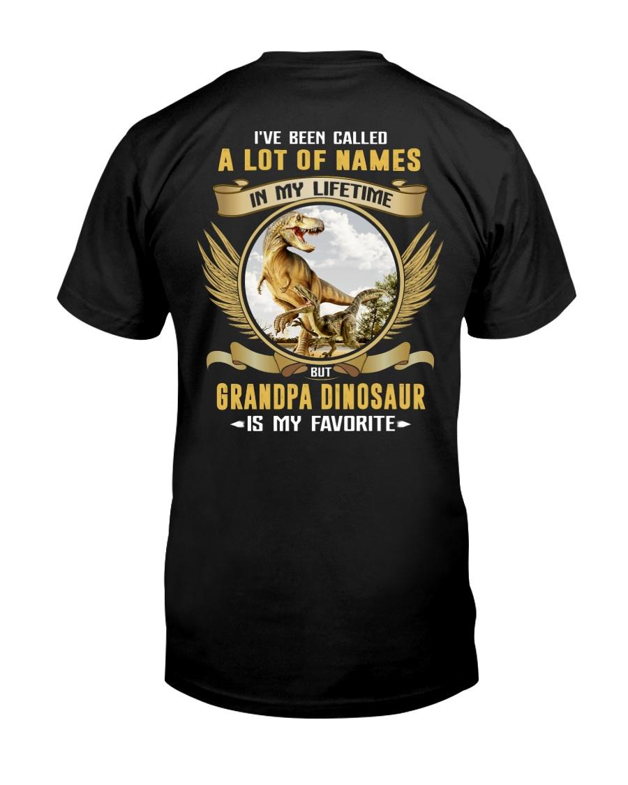 grandpa dinosaur Classic T-Shirt