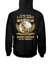 grandpa dinosaur Hooded Sweatshirt thumbnail