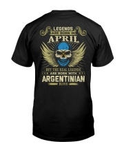 LEGENDS ARGENTINIAN - 04 Classic T-Shirt back